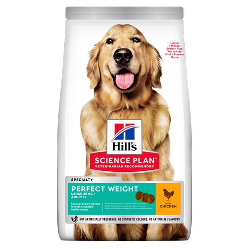 Hill's Science Plan PERFECT WEIGHT LARGE BREED ADULT DOG FOOD with CHICKEN