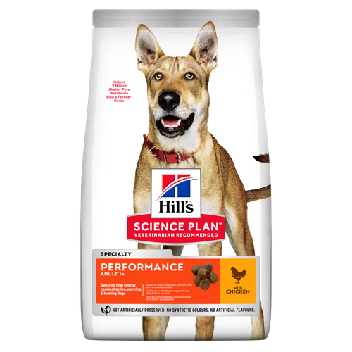 Hill's Science Plan PERFORMANCE ADULT DOG FOOD with CHICKEN